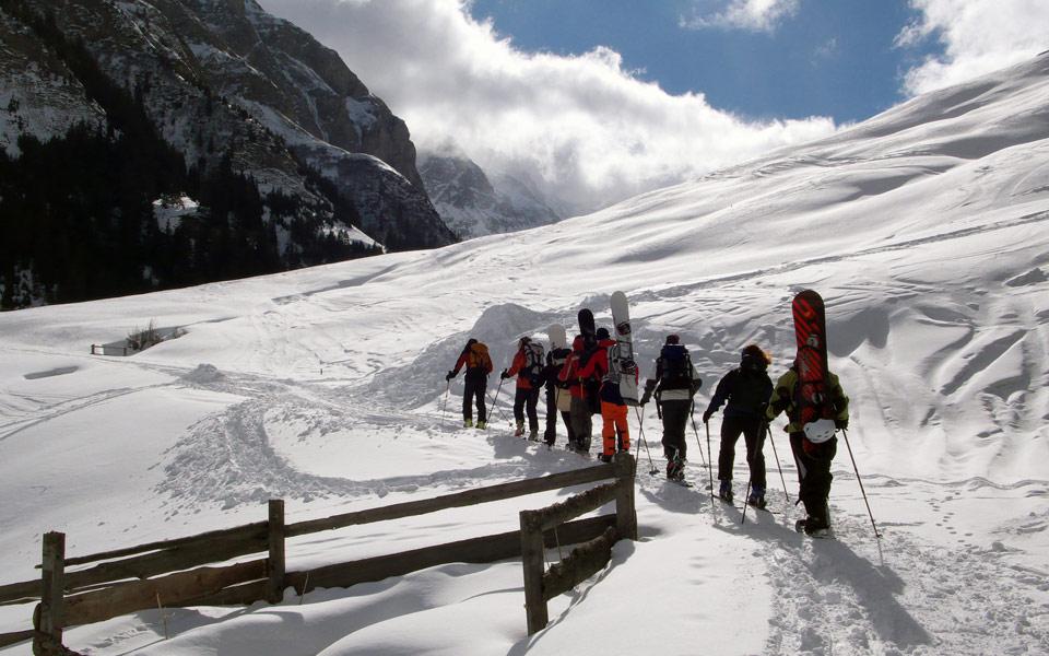 Skitour Splügen 1  Lumix LX2