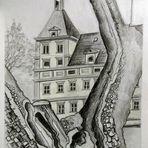 Skizze  Schloß Eggenberg_Detailansicht...