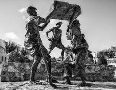 Sklaven Denkmal, Philipsburg, Sint Maarten, N.A.