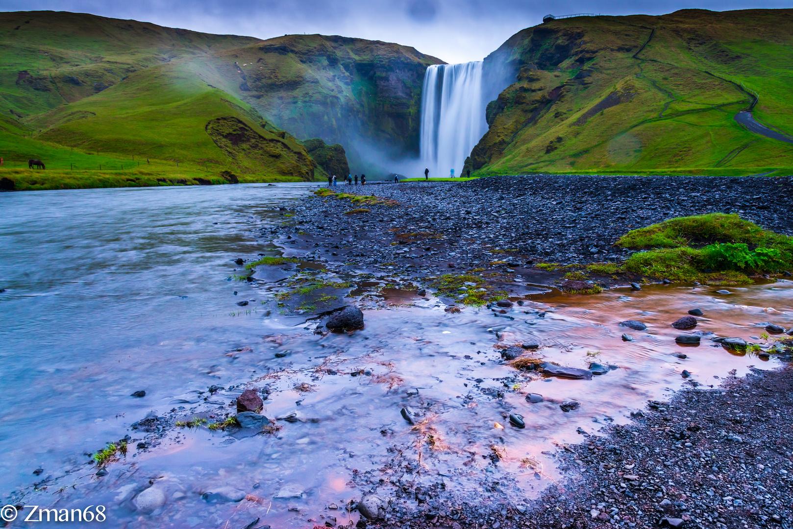 Skogafoss Curtain waterfall, Iceland
