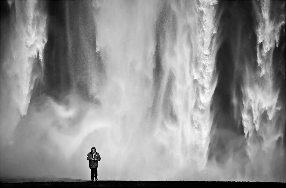 Skógafoss, Island by Sus Bogaerts