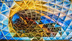 Skulptur aus Glas