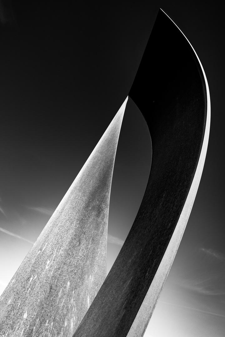 Skulptur aus Stahl 3