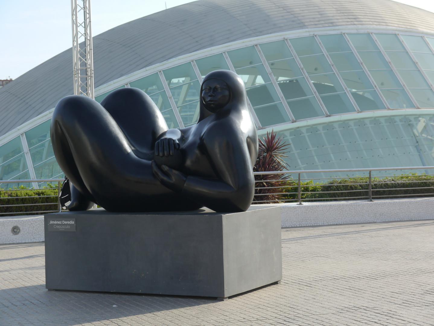 "Skulptur ""Crepusculo"""