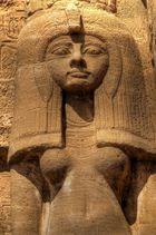 Skulptur der Nefertari
