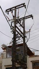 Skulptur der Stromversorgung