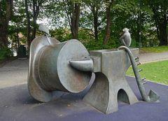 Skulptur für Lars Lende