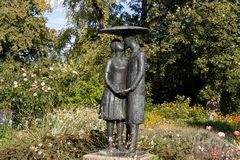 Skulptur im  Garten in Potsdam