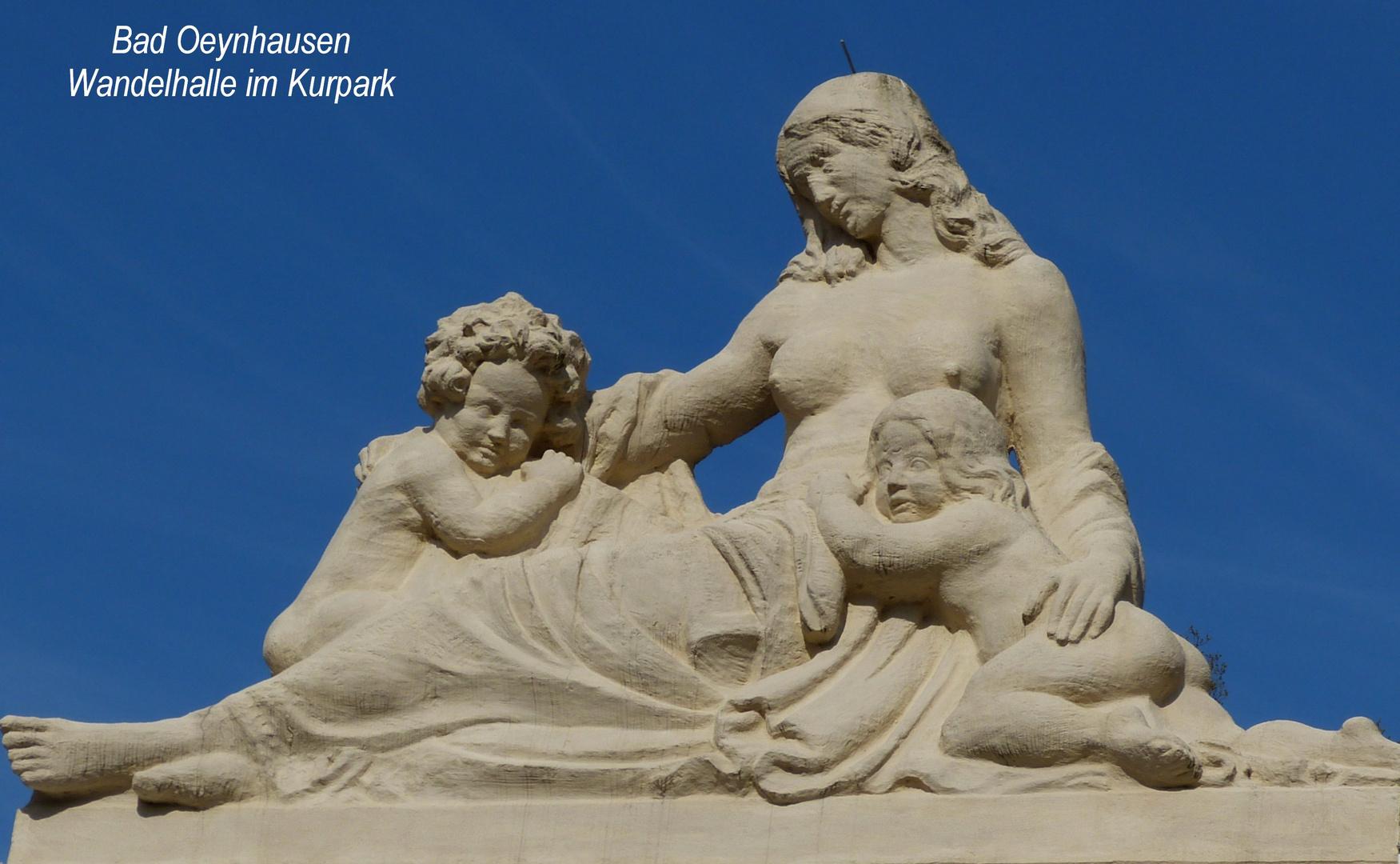 Skulptur Im Kurpark Bad Oeynhausen