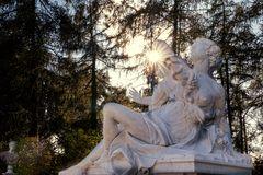 Skulptur im Park von Sanssouci