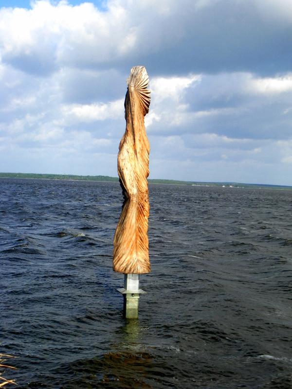 Skulptur im Steinhuder Meer