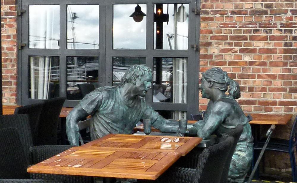 Skulptur in Oslo