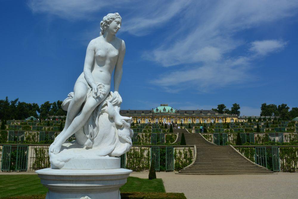 Skulptur in Sanssouci