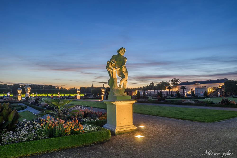 Skulptur Najade Herrenhäuser Gärten