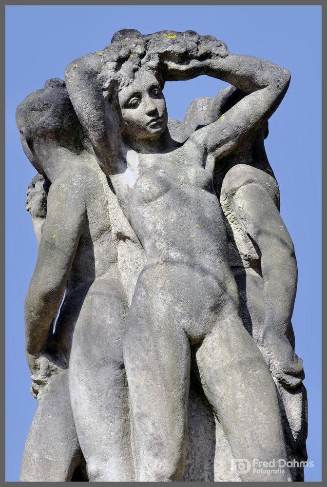 Skulptur, Stadtpark Marienbad