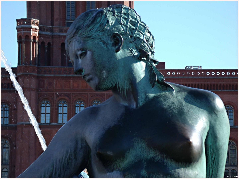 Skulptur vom Neptunbrunnen in Berlin