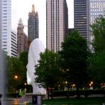 Skulpturen aus dem Millennium Park in Chicago