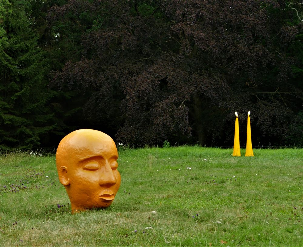 Skulpturen bei Beikirchers ...
