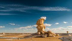 Skulpturen der Wüste