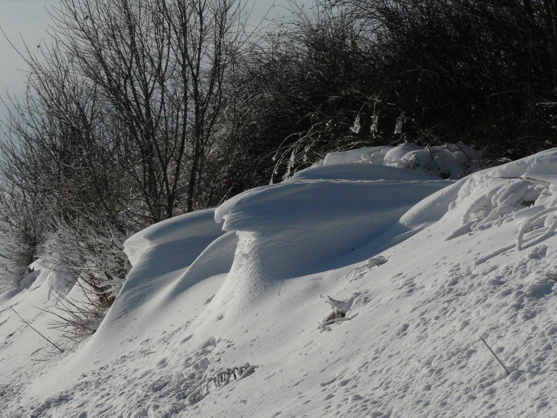 Skulpturen des Atems der Schneekönigin