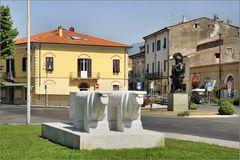 Skulpturen in Pietrasanta