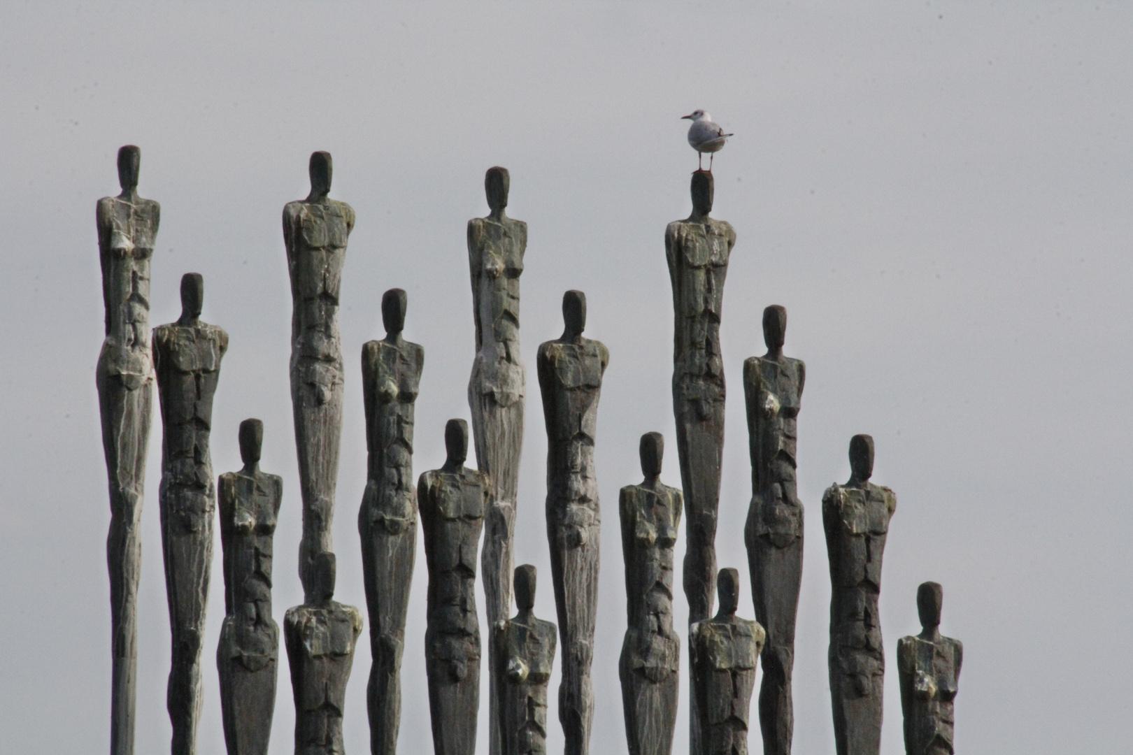 """Skulpturengruppe """"Gemeinsam"""""""