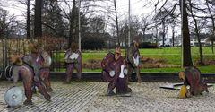 Skulpturengruppe - Hans im Glück