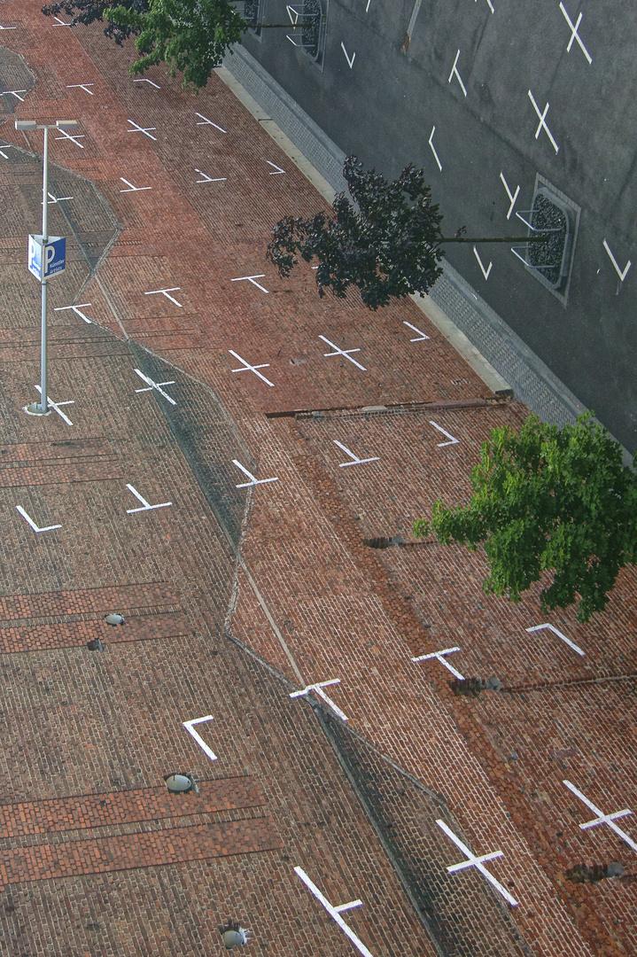 Skuriler Parkplatz