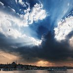 Sky above Istanbul