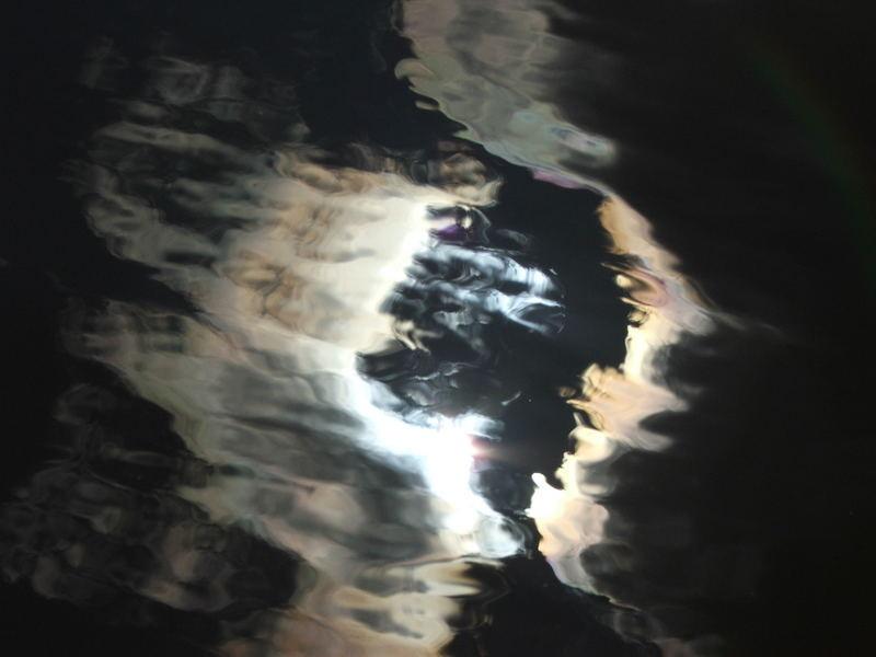 sky + lake