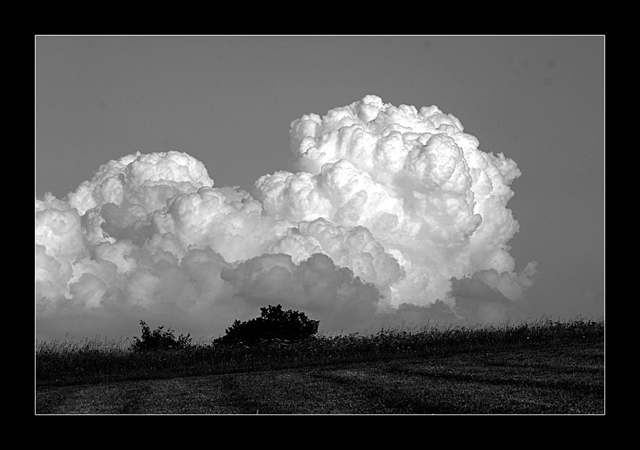 sky meets earth