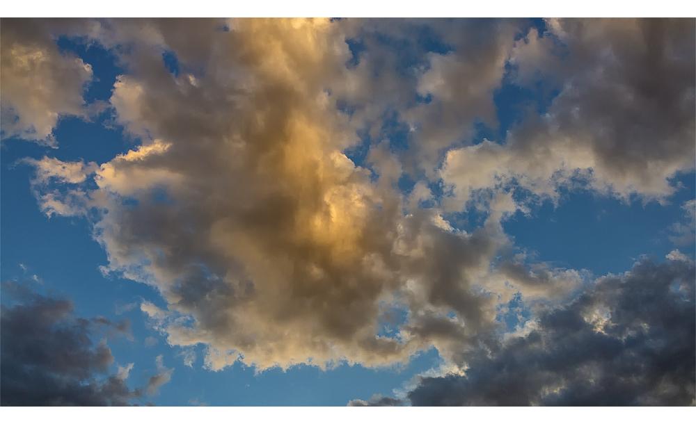Sky over Aschau