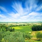 Sky over the Tuscany