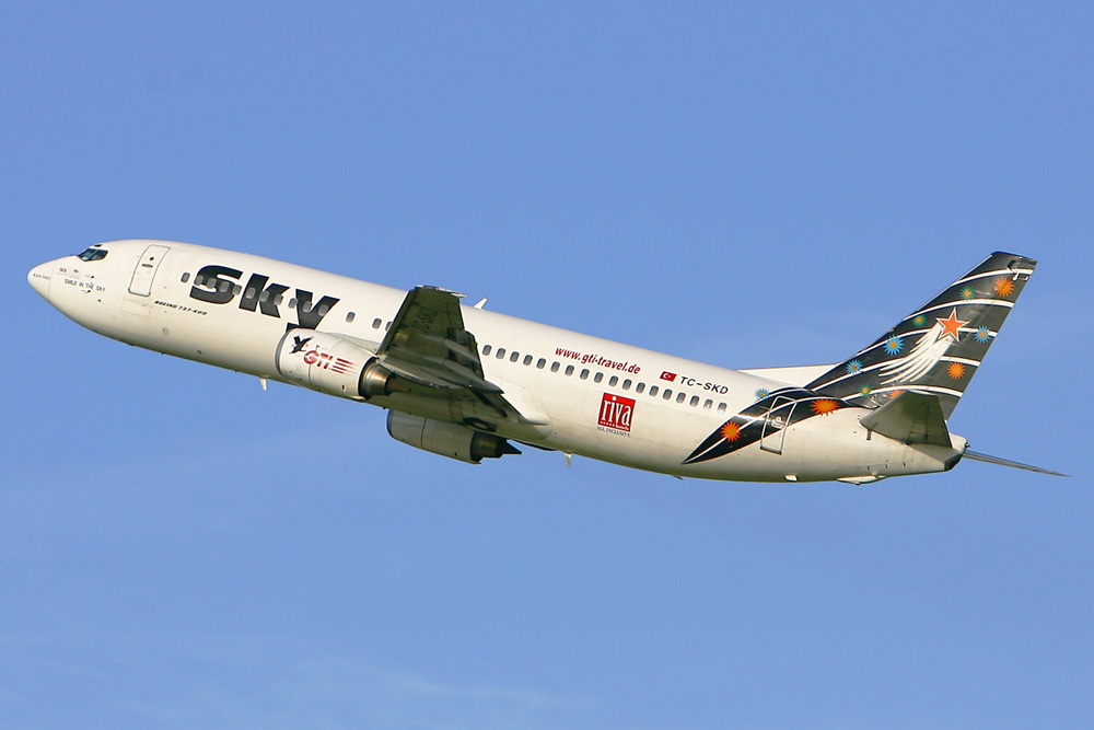 Sky TC-SKD @ DUS