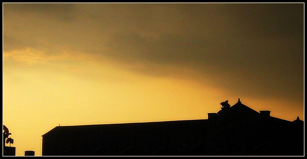 Skyline.. al tramonto...