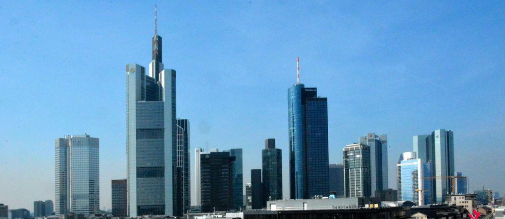 Skyline an der Hauptwache