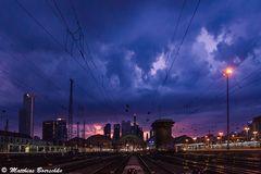 Skyline and shelfcloud