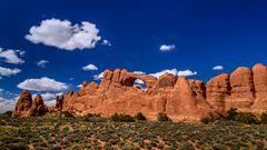 Skyline Arch, Arches NP, Utah, USA