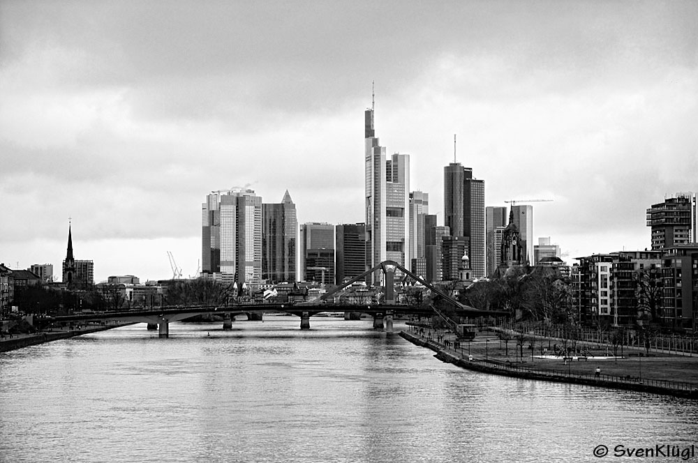 Frankfurt Skyline Fotografieren