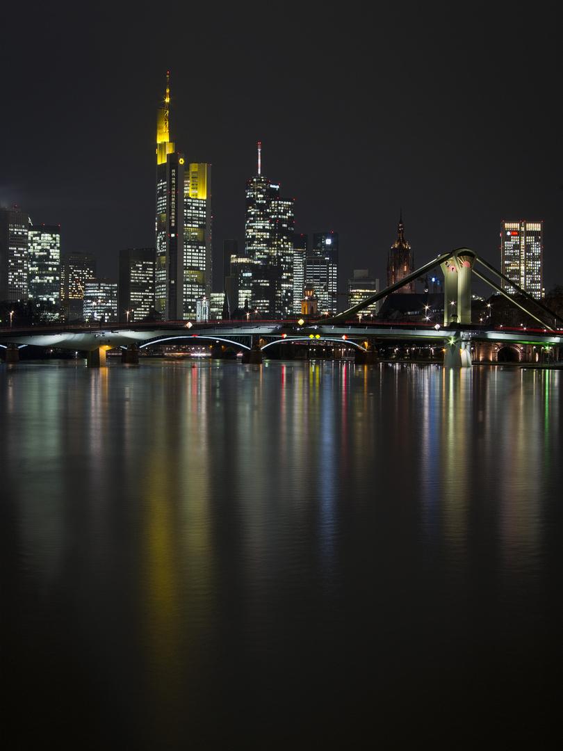 Skyline Frankfurt bei Nacht 2