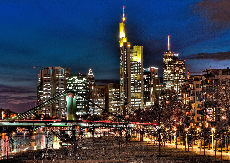 Skyline Frankfurt - HDR 3