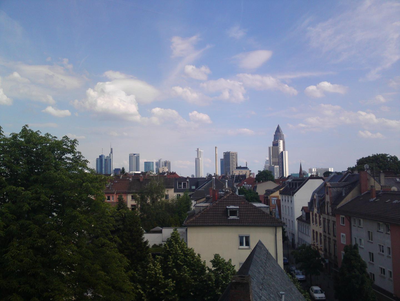 Skyline Frankfurt - Test Sony Ericsson Satio