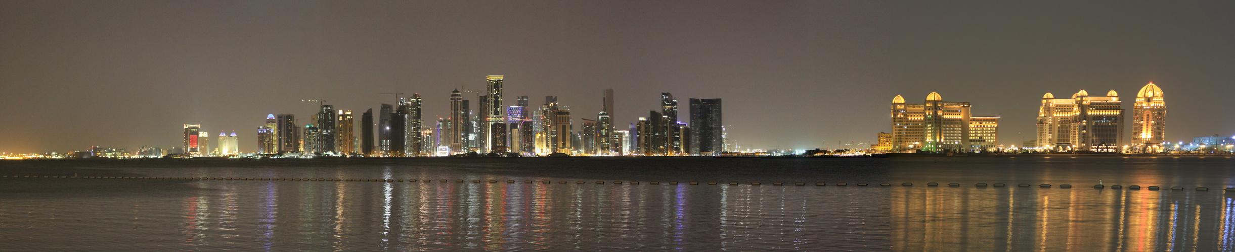 Skyline from Doha, Qatar