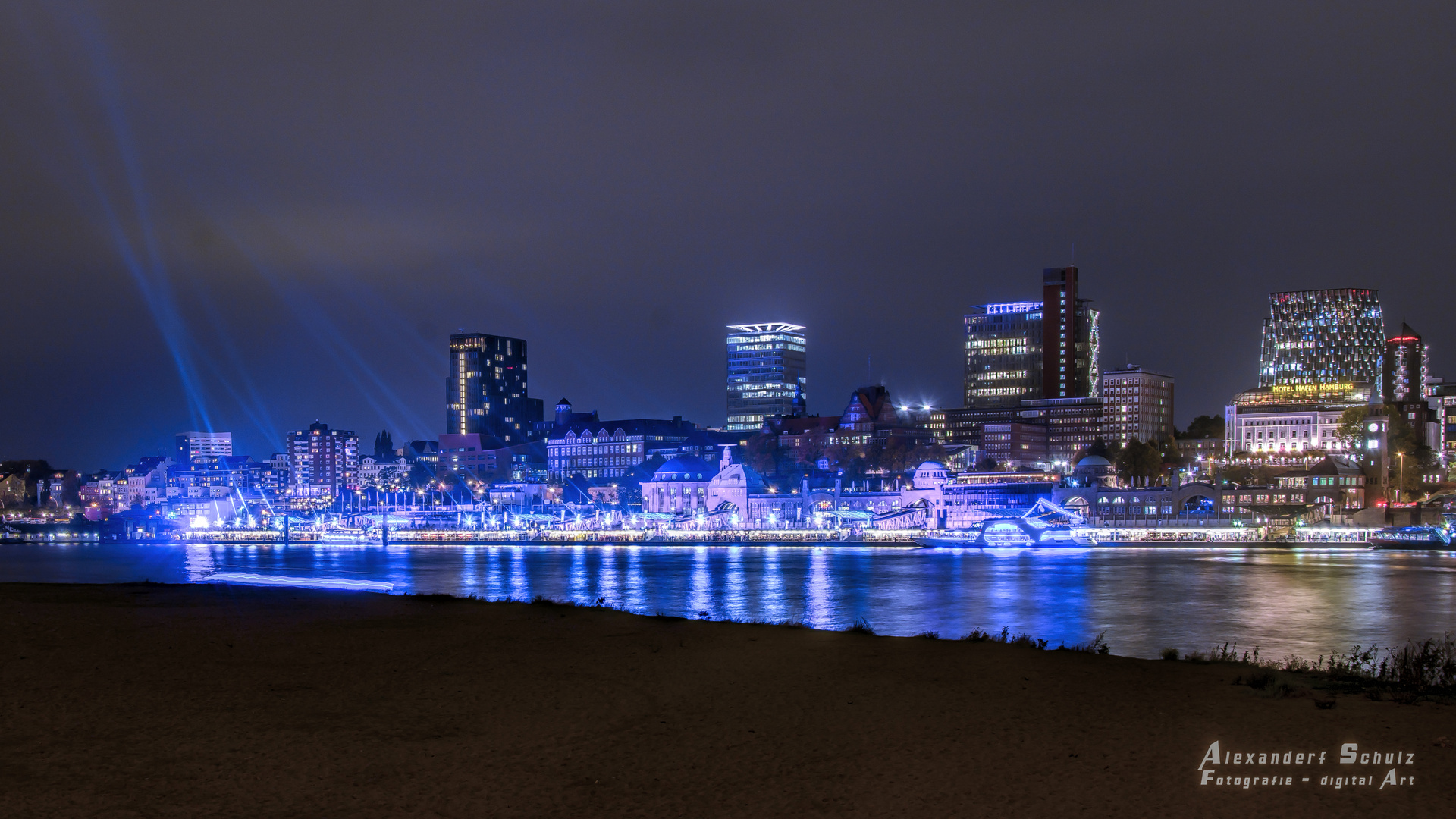 Skyline Hamburg Bild