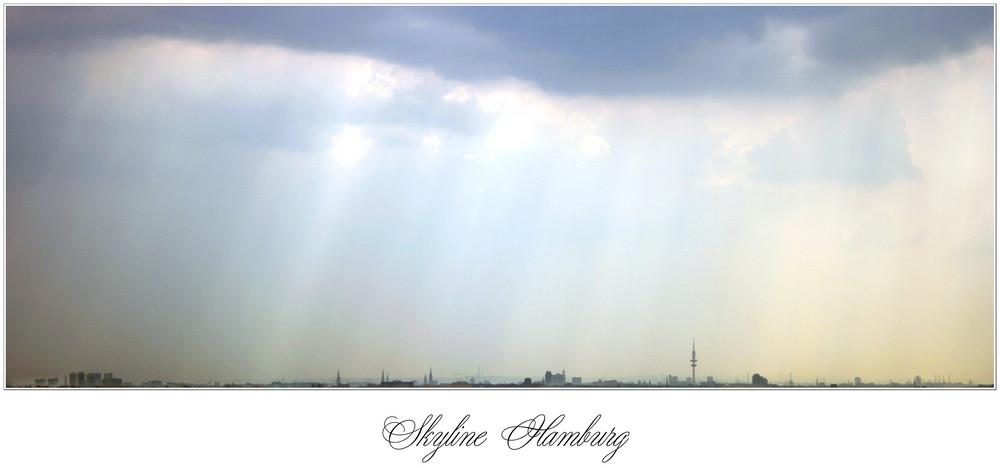 Skyline Hamburg...
