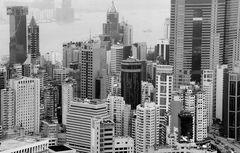 Skyline in Hong Kong