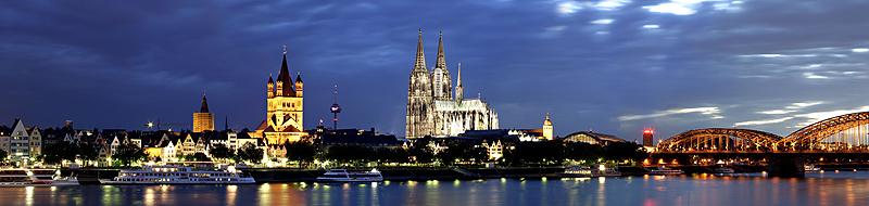 *Skyline Köln*