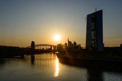 Skyline mit EZB