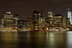 Skyline New York bei Nacht