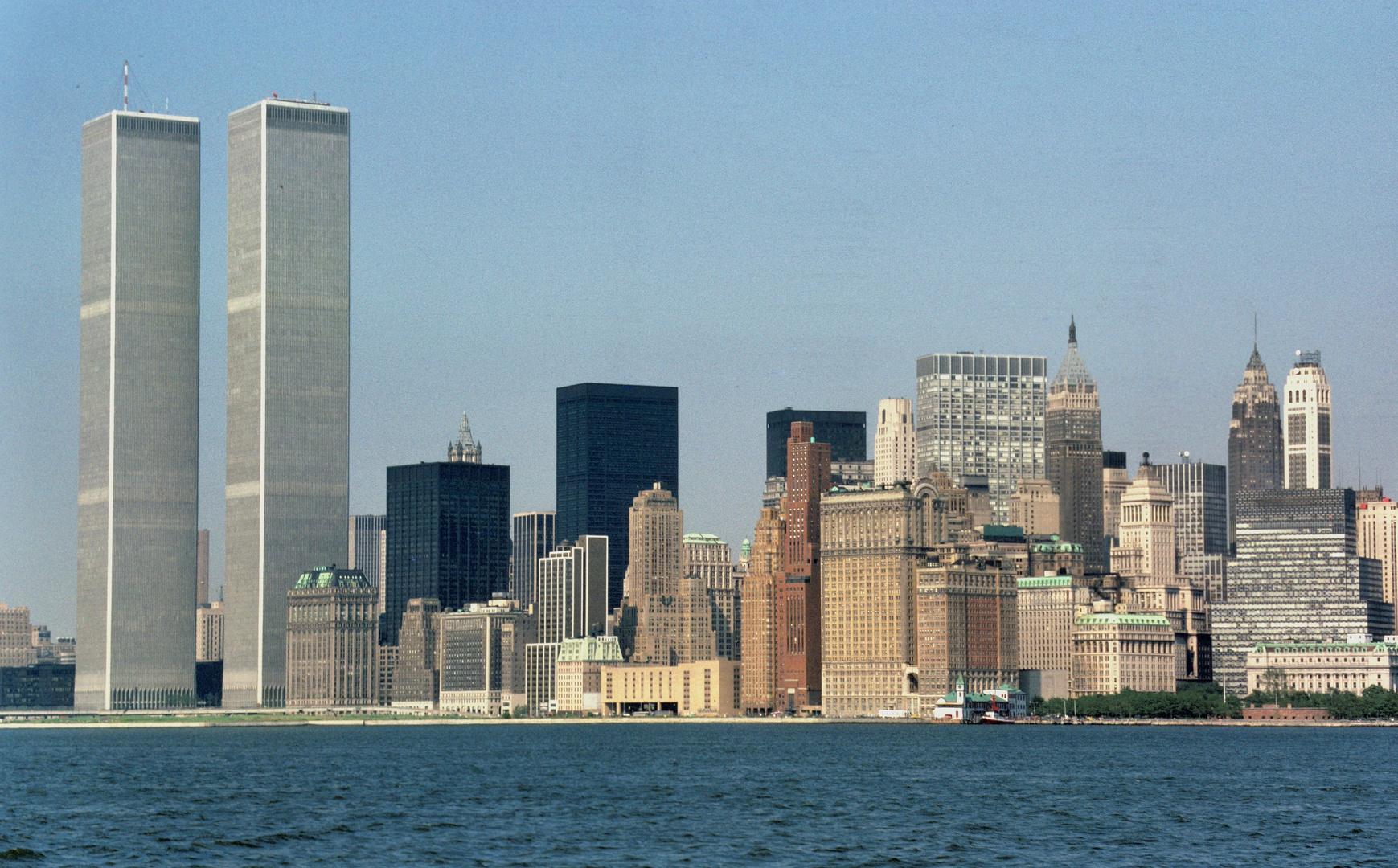 Skyline NYC before 9-11-2001